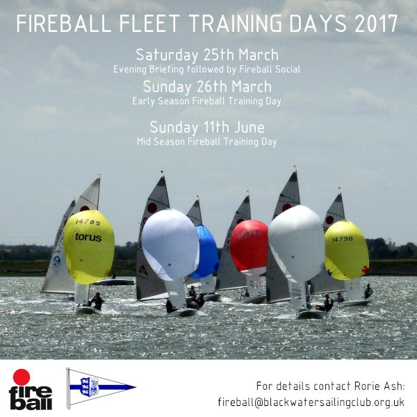 Training Days Promotional Flyer