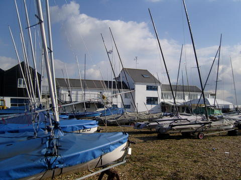 club house dinghy park